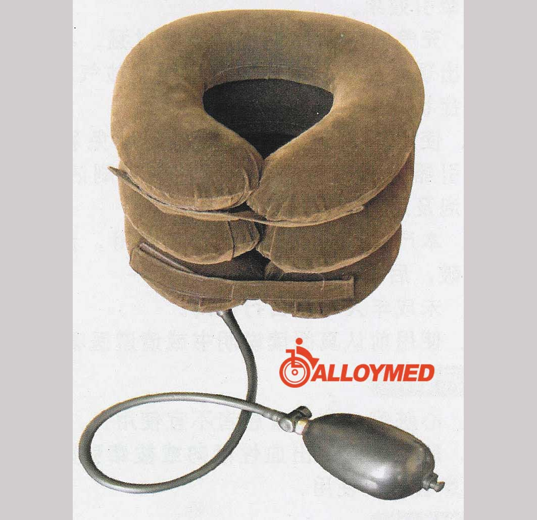 ALLOYMED Inflatable neck traction pillow
