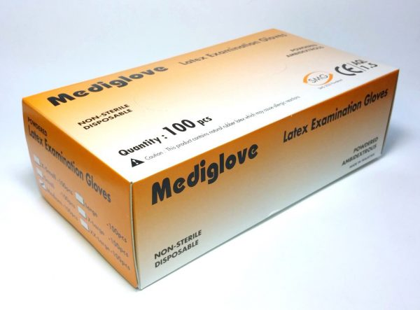 MEDIGLOVE EXAM GLOVE