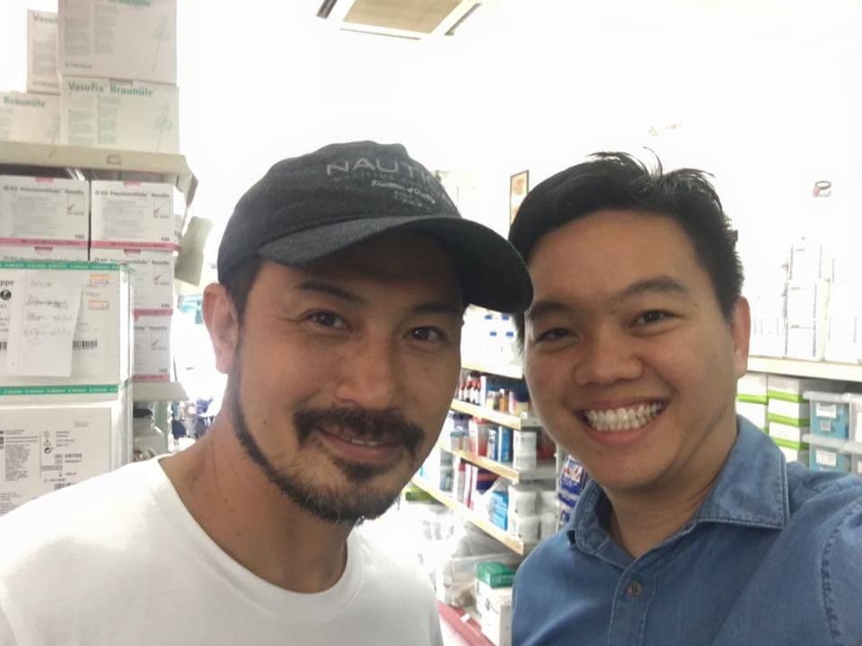 2016 Darren Lim MediaCorp Artiste visits