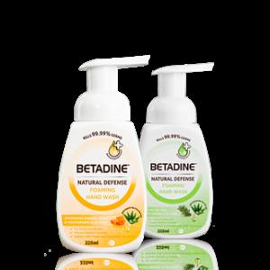 BETADINE Natural Defense Foaming Hand Wash